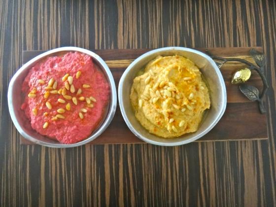 Chickpea & Beet Hummus