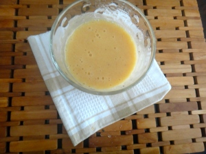 {Experimenting with frozen peaches: the Peachanana Smoothie}