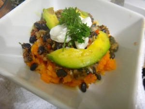 Sweet Potato Mexican Bowl