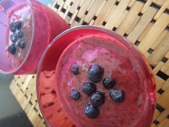 Berry Greek Smoothie