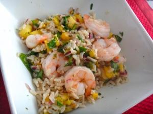 Shrimp & Chutney Bowl