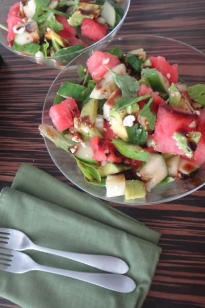 The martini salad