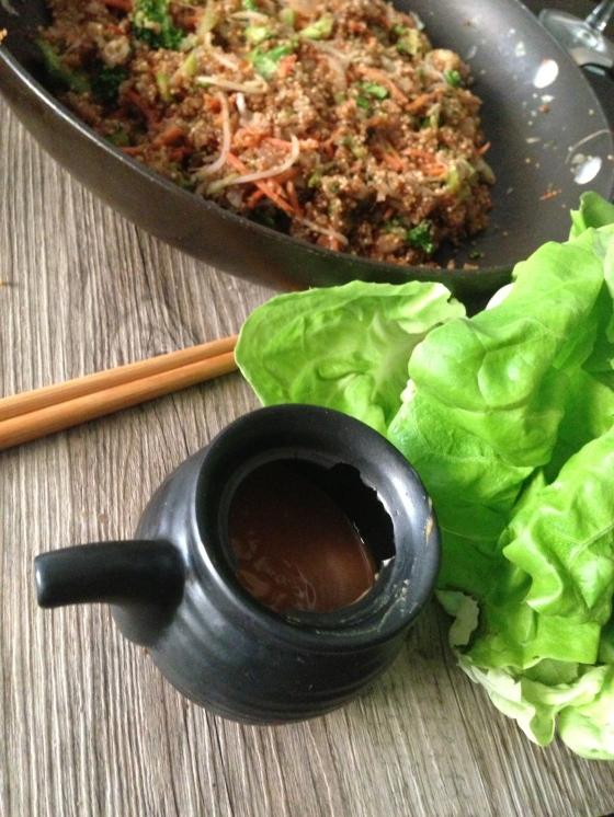Asian night: vegan style