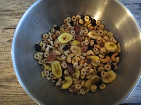 {Honey Nut Trail Mix – high energy snaking on the go}