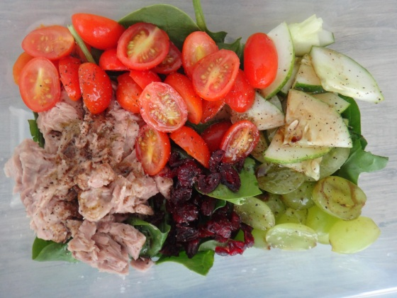 Quick chopped salad