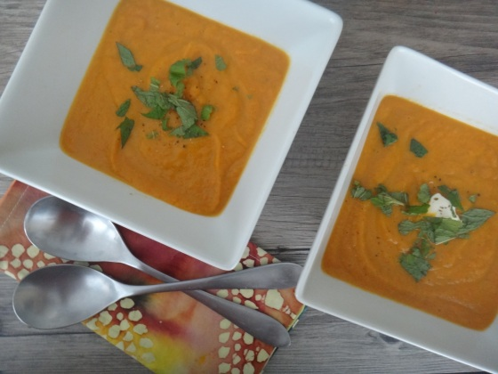 Carrot Ginger Spice Soup