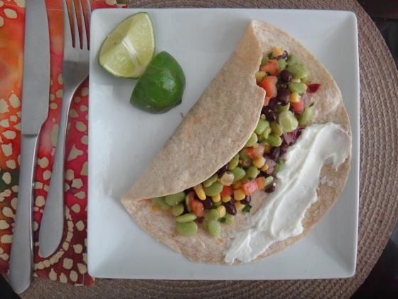 Bean Fiesta Burrito