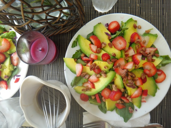 Strawberry-Avocado Summer Salad