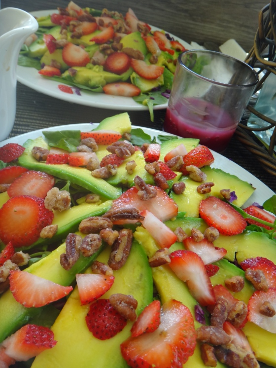 Strawberry-Avocado Summer Salad