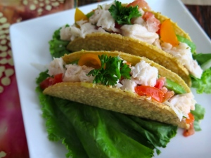Ceviche tacos