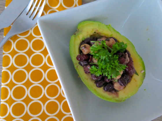 Stuffed Avocado Salad