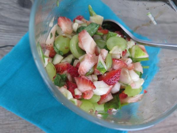 Mediterranean Breakfast Salad